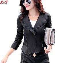 Women Leather Jackets Fashion Mandarin Collar 2015 Leather Clothing Slim Motorcycle Leather Jacket female Outerwear Coats YL1368