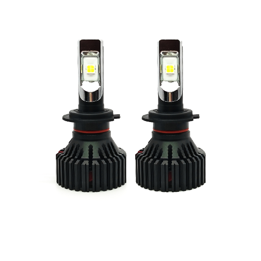 welback led headlight bulb 60w 6500k 5000 lumens extremely brigh 9005 9006 h1 h4 h7 h11 led. Black Bedroom Furniture Sets. Home Design Ideas