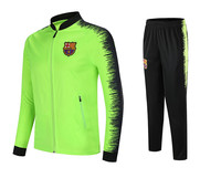 Barcelona Men Track Suit 18 19 New N98 For Adults Children Casual High Quality Clothes Jacket + Pant Men's Sets Sweatsuits