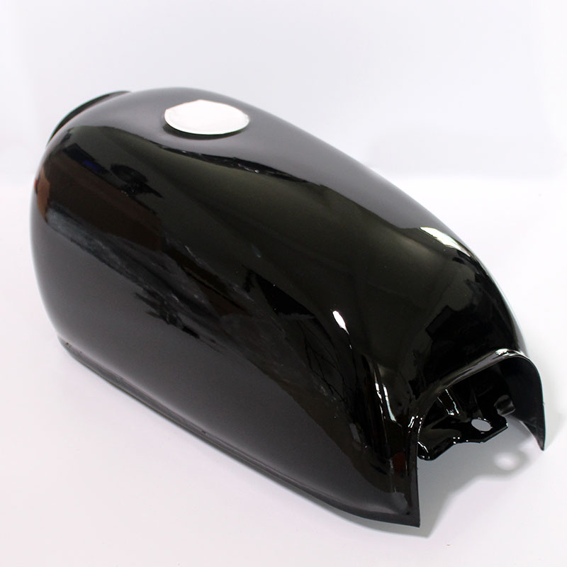 Image 3 - Universal Black Motorcycle 6L Gal Capacity Fuel Tank Dominator Gas For Retro Cafe Racer Tank  Honda Jialing70-in Fuel Tank from Automobiles & Motorcycles