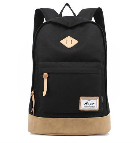 AUGUR 2017   Preppy Style Men Backpack Top Quality Oxford Waterproof Backpack School Bags for Teenagers Students Women Backpack