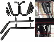 Anteriore e Posteriore Grab Maniglia Bar Kit 2007-2018 per Jeep Wrangler 4 Porte Solido Acciaio Inox Grab Bar