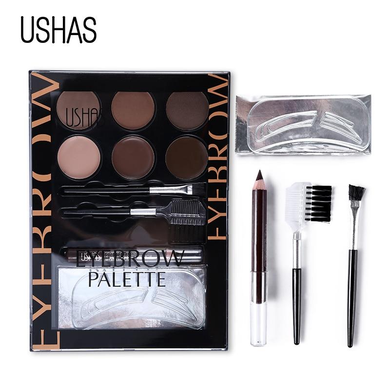 ushas brand eyebrow makeup set eye brow powder brow pencil. Black Bedroom Furniture Sets. Home Design Ideas