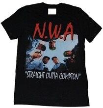 Custom Shirts O-Neck Short Sleeve Fashion Mens New N.W.A. Straight Outta Compton T