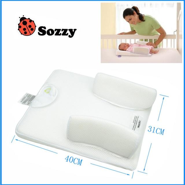 Sozzy Anti Baby Spit Milk Crib Cot Wedge Baby Sleep Positioning Pillow Nursing Pillow Pad