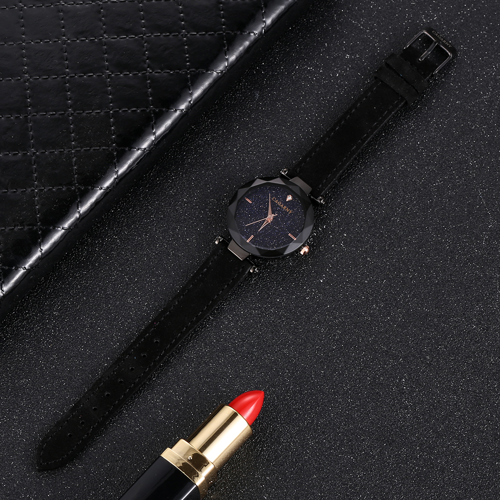 cagarny 2018 Leather Women Watches Ladies Luxury Brand Famous Wrist Watch Fashion Dress Female Clock Relogio Feminino Montre Femme (5)