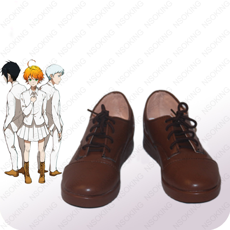The Promised Neverland Isabella Boots Norman Norman Anime Cosplay Shoes