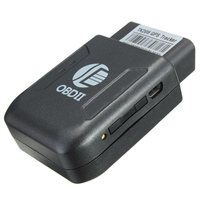 OBD II GPS Tracker Locator Pocket Satellite Anti-Theft GSM GPRS SIM SOS Black