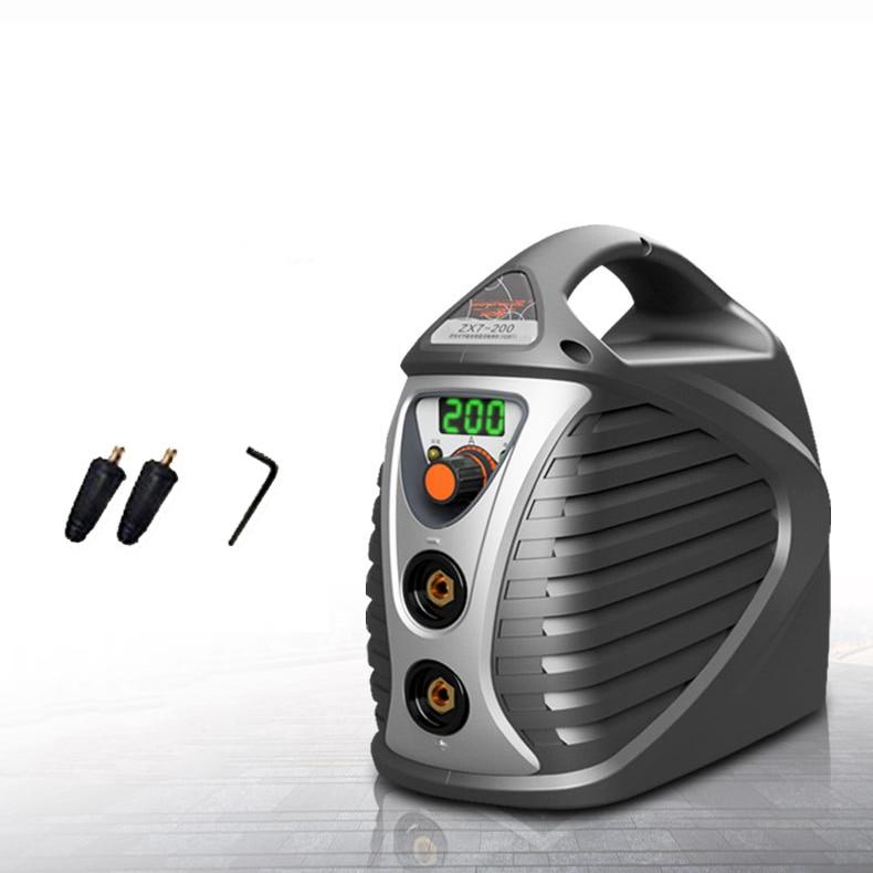 Mini Welding Machine Inverter 200A IGBT MMA ARC Welder Portable AC 220V Home Industrial Device Welding Inverters ZX7-200 установка для дуговой сварки betty ac 110v 220v igbt zx7 200