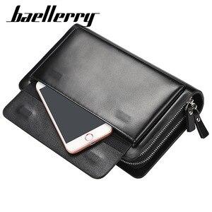 Image 5 - 2020 คุณภาพสูงผู้ชาย CLUTCH กระเป๋าสตางค์ขนาดใหญ่ความจุกระเป๋าสตางค์ชายกระเป๋าโทรศัพท์มือถือพ็อกเก็ตกระเป๋าสตางค์สำหรับชาย