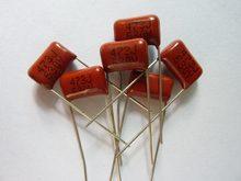20pcs CBB 473 630V 47nF P10 473J CL21 0.047uF Filme de Polipropileno Metalizado Capacitor
