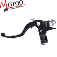 Motoo Universal 7/8 Adelin Clamp Clutch Master Cylinder Lever for most motorcycle