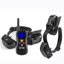 все цены на PET008 Dog Training Collar 300m/330 Yard 16 Level Electronic Device Rechargeable with Safe Beep Vibration Shock for 2 dogs онлайн