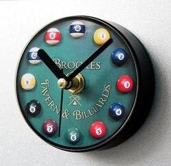 Kreatywne bilard zegar 3D magnesy na lodówkę świat turystyka pamiątki lodówka magnetyczne naklejki do dekoracji domu