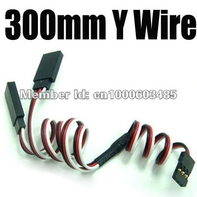 5pcs 300mm RC Servo Y Extension Cord Cable Wire for RC Model Toys