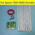 2 шт. Заводская цена и быстрая доставка T6031/T6041 для Epson 9880 9800 Чип декодер