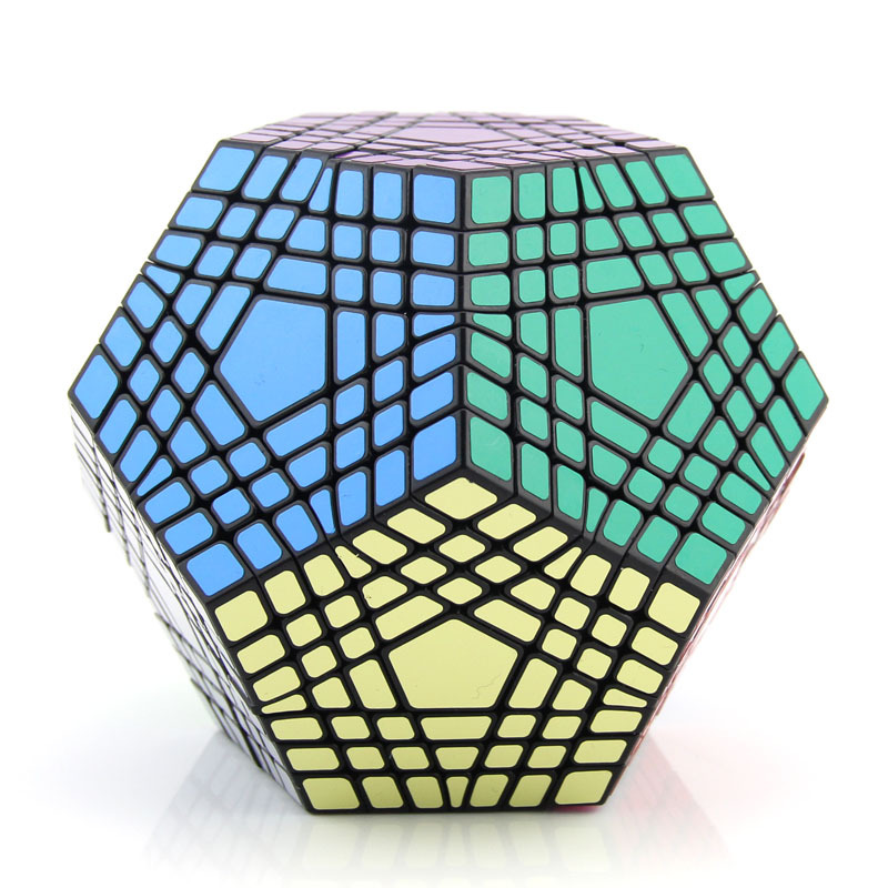 Shengshou 7x7 teraminx 퍼즐 마술 장난감 게임 플레이-에서매직 큐브부터 완구 & 취미 의  그룹 3