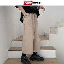 LAPPSTER Harajuku Harem Pants Men 2019 Summer Korean Style J