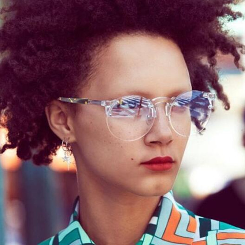 REALSTAR 2018 Fashion Round Sunglasses Women Brand Designer Vintage Sun Glasses Men Retro Rimless Glasses Shades Oculos S27