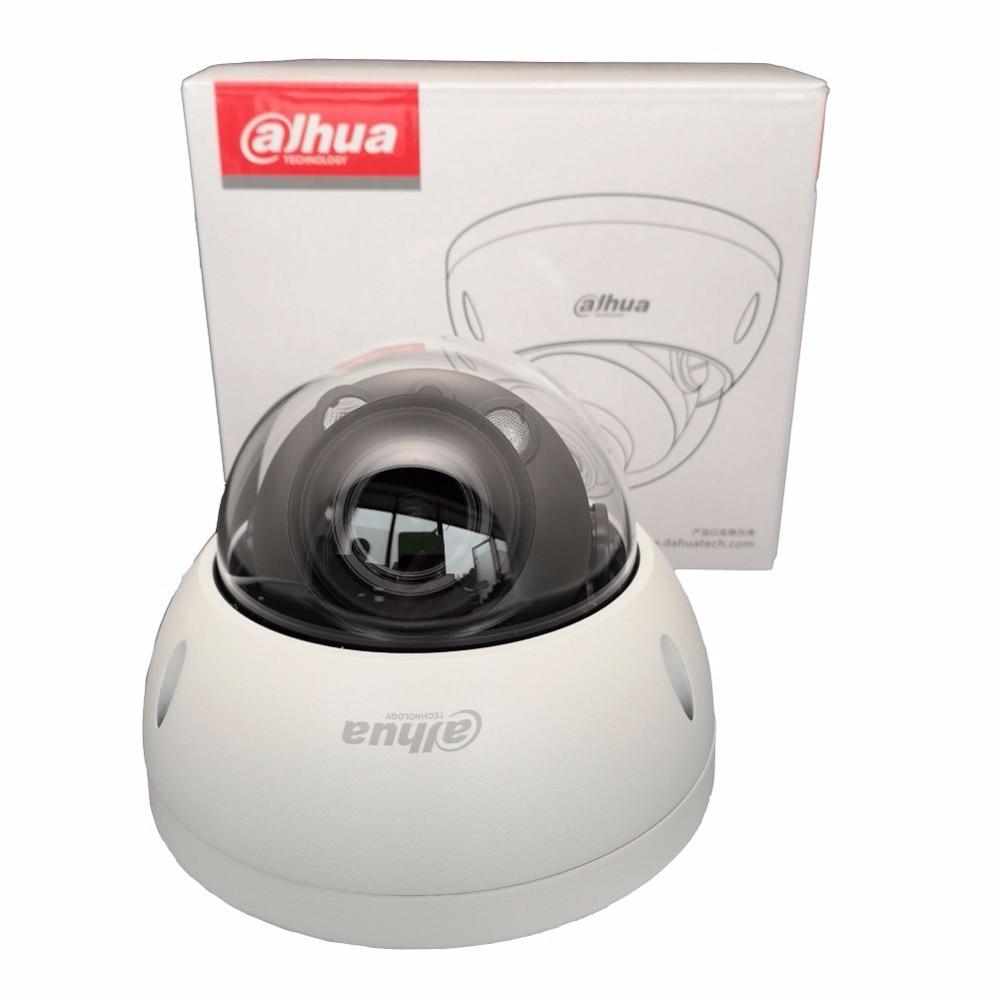 Ahua à focale variable objectif motorisé caméra IP HDBW4433R-ZS 4MP 2.7-13.5mm IR50M avec fente pour Carte sd POE caméra réseau