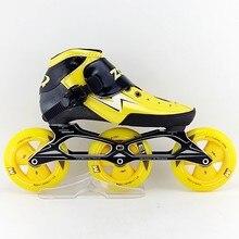 Adult male and female children skate wheel skates zodor professional roller skates 3 x 110mm inline