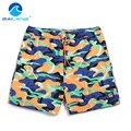Gailang Brand High Quality Men fashion design comfortable elastic waistline beach shorts Swimwear Men's printed leisure shorts