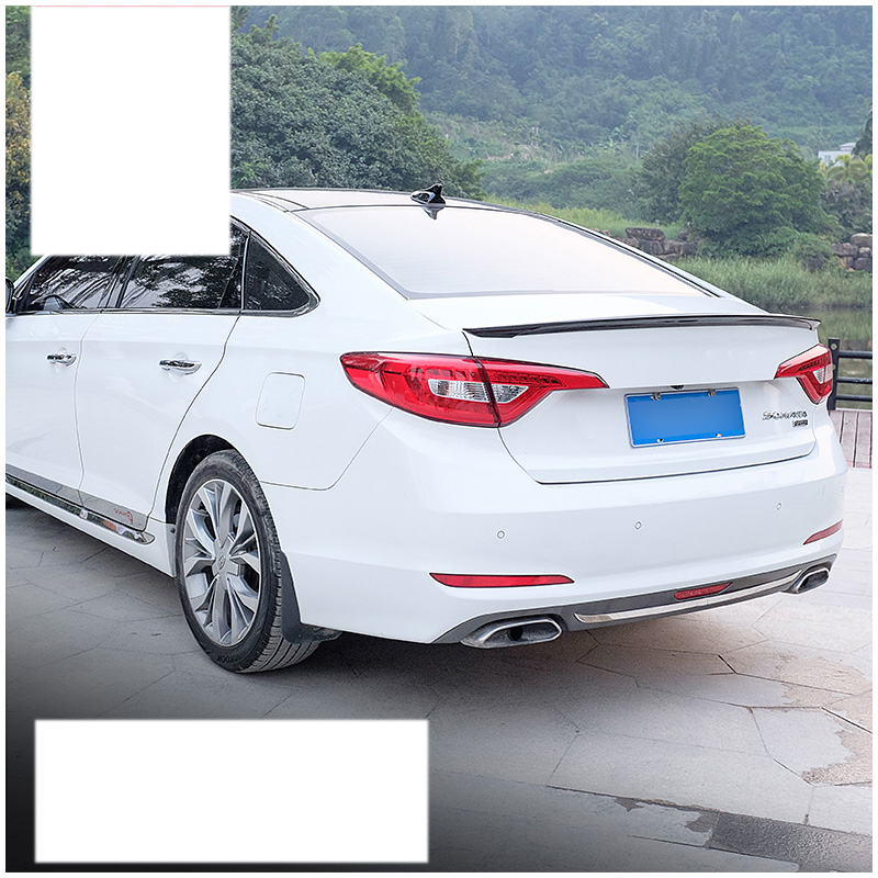 Lsrtw2017 Abs Painting Car Tail Spoiler For Hyundai Sonata