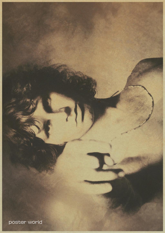 Vintage Poster home decor The Doors Jim Morrison Kraft rock Poster ...