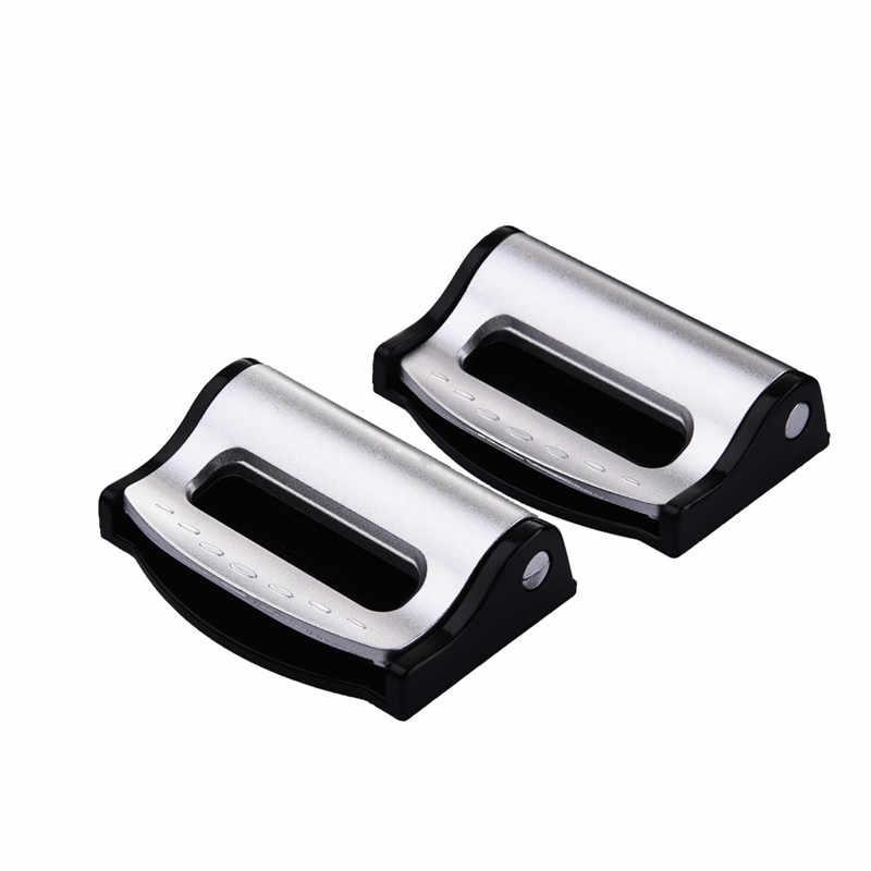 2pcs Universal Car Seat Belts Clips Safety Adjustable Auto SeatBelt  Stopper/ Buckle Plastic Clip Useful 4Colors