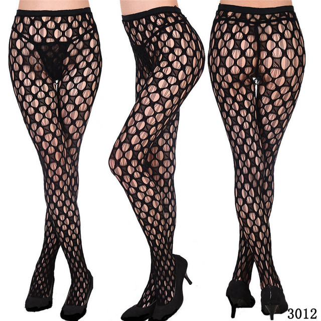 DOIAESKV Plus Size Tights Women Sexy Erotic Lingerie Pantyhose Sex Body Stockings Large Size Tights Sexy Women Fishnet Pantyhose 3
