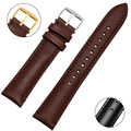 High Quality Smooth Genuine Leather Watchband Watchstraps 18mm 20mm 22mm