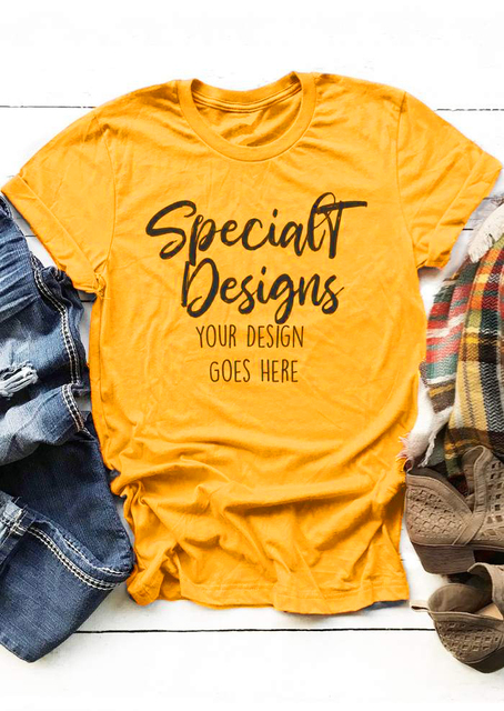 Special Designs O-Neck Casual T-Shirt your design goes here Tumblr Letter Slogan  Tee Casual Hipster Popular gift shirt Drop Ship a2c5dffc39a3