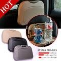 Alta calidad Del Coche portavasos portavasos coche estante de cristal estante posterior del coche mesa de comedor coche multifuncional Envío Libre