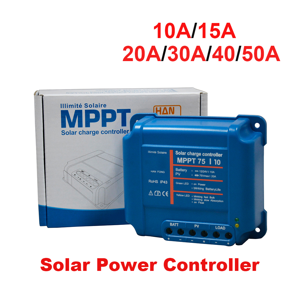 MPPT Solar Power Controller PV Reverse Polarity Protection Solar Power Regulator Auto Voltage Recognition Charge Controller комплект paulmann 9412 94123