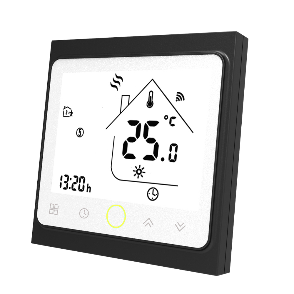 Programmable Wifi Thermostat Water/Gas Boiler Thermostat LCD Display Temperature Controller Works with Alexa Google Home 3A