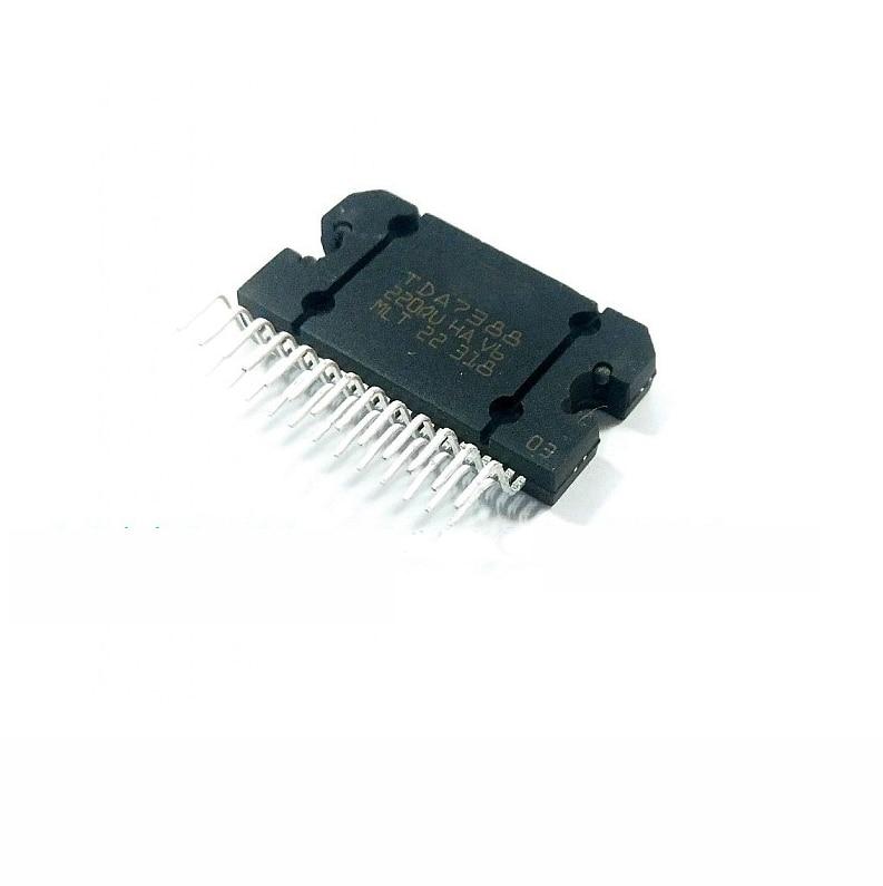 1PCS TDA7388 ZIP25 TDA7388A ZIP 4 42W Quad Bridge Car Radio Amplifier New And Original