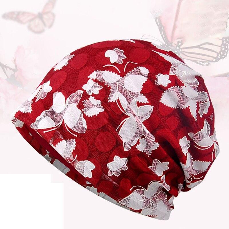 1 Pc Kappe Dame Frauen Männer Baumwolle Spitze Atmungsaktive Stretch Aushöhlen Sun Hut Kopf Tragen Zubehör Neue