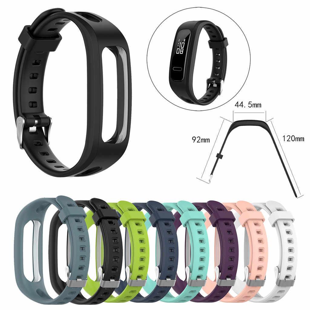 Samrt 時計バンドスポーツバンドシリコーン交換 Watch Band リストストラップ Huawei 社の名誉 4 ランニングスマートウォッチ 522 +