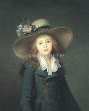 Film de peinture à l'huile fait à la main | Peinture à l'huile, collection de Louise Elisabeth, Vigee Le Brun