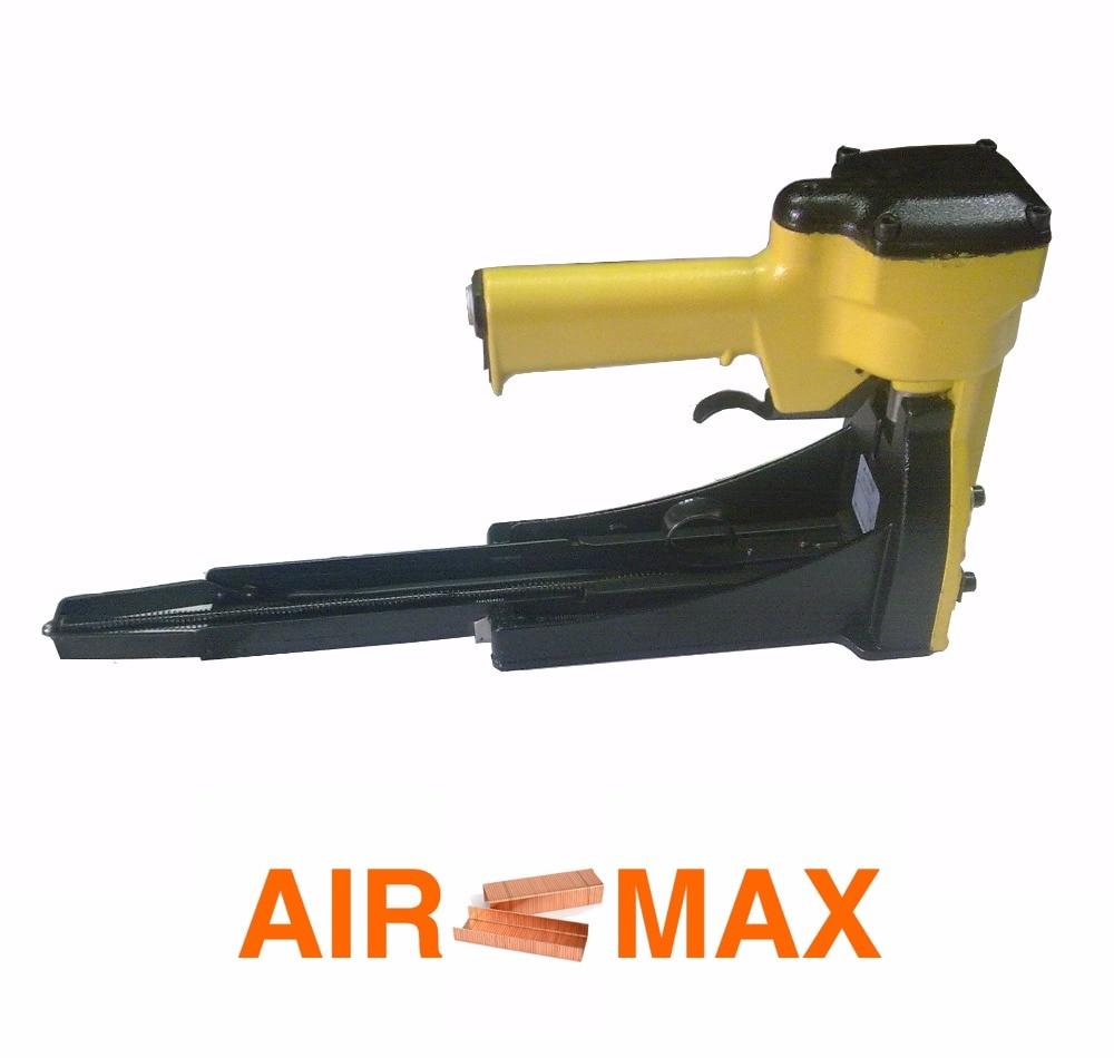Pneumatic Carton Closing Stapler Top Carton Stapler Gun for 35 series (not include the customs tax) цена