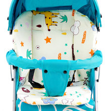 Infant Toddler Stroller Cushion Padding Liner Baby Carriage Seat Cover Baby Stroller Cotton Mat Pram Seat Pad for 1-2 Years Old все цены