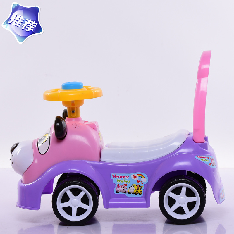 Baby Speelgoed Shilly-Auto Wandelwagen twist auto Wandelaar Scooter 1-3 Jaar Met Stickers Muziek Speelgoed Voor gelukkig Baby Kinderen