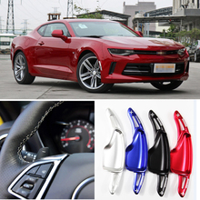 tommia For Chevrolet Camaro 2016-2018 2pcs Steering Wheel Aluminum Shift Paddle Shifter Extension Car-styling Car Accessories цена в Москве и Питере