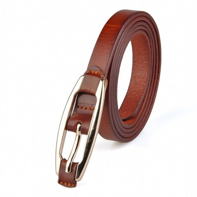 woman leather belt high quality genuine leather fashion designer female brand straps luxury waistband metallica buck/wlb082