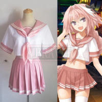Fate Grand Astolpho/Astolfo Cosplay Costume Custom Made Any Size
