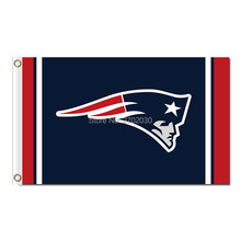 51f7c9e3e60 New England Patriots Flags Football Team Helmet Banners 3ft X 5ft Banner  Super Bowl Champion Custom Flag 100D Polyester