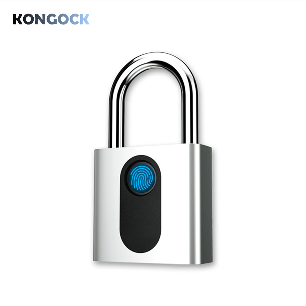 Biometric Fingerprint Padlock, Security Waterproof Keyless lock for House Door, Fence, Backpack, Suitcase, Office, Bike etcBiometric Fingerprint Padlock, Security Waterproof Keyless lock for House Door, Fence, Backpack, Suitcase, Office, Bike etc