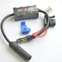 Universal Automobile Car FM AM Radio Stereo Antenna Signal Amplifier Booster
