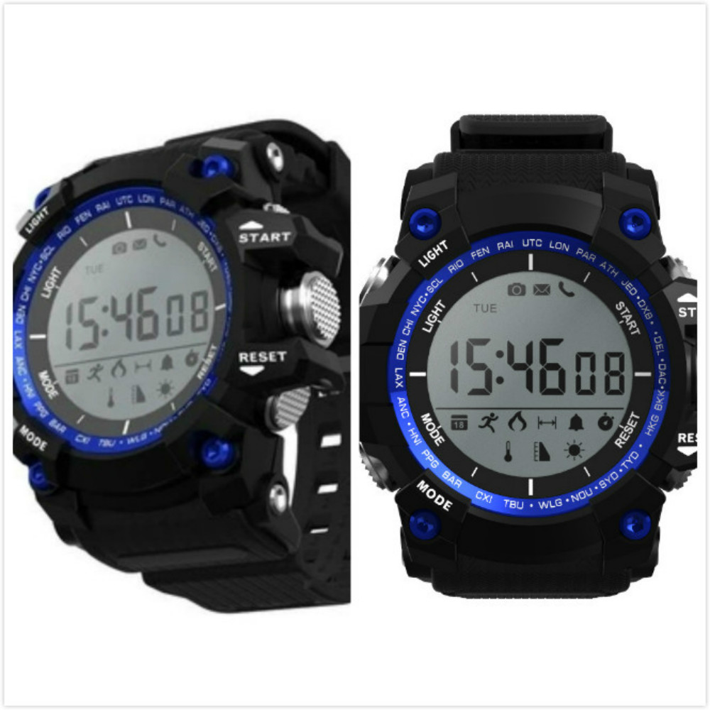Sport Santé Montre Smart Watch Soutient Haute Barométrique Température UV Détection pour iphone samsung xiaomi huawei montre électronique