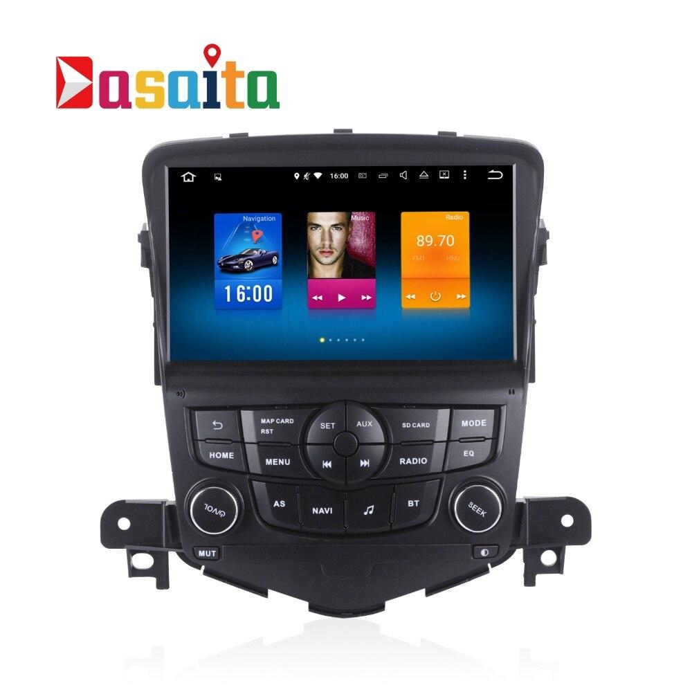 Car Radio GPS Android 8.0 2 Din For Chevrolet Cruze 2008 2009 2010 2011 2012 2013 Radio 8 core Multimedia Support DAB DVR OBD